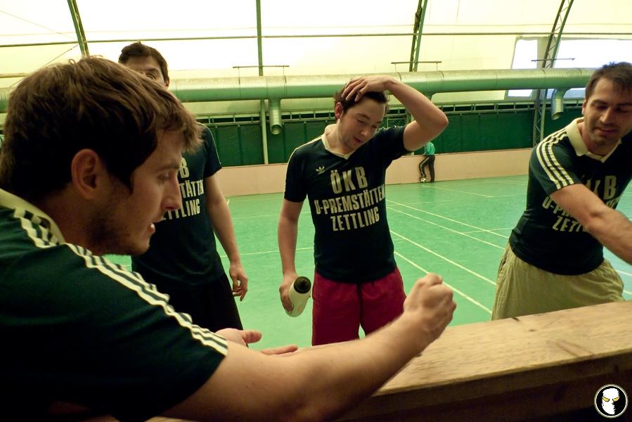 Drittes Spiel der HFL am 23.1.2011 gegen den HFC Headbanger\'s United!