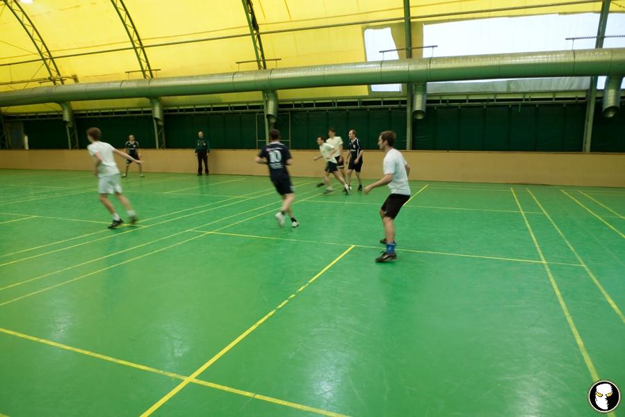 Erstes Spiel der HFL am 23.1.2011 gegen den HFC Odörfer!